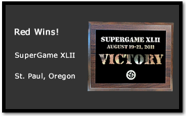 Bad Karma and the Red Team Wins at SuperGame XLII