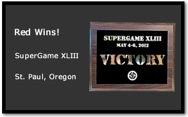 Bad Karma and the Red Team Wins at SuperGame XLIII